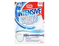 K2r Intensive white obrúsky na ochranu prádla 1x20 ks