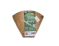 Tácka na trojuholník pizze Pure 2,5x17,1x18x3cm Papstar 80ks