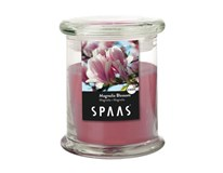 Sviečka Spa sklo magnolia 9x11cm Spaas 1ks