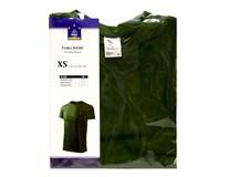 Tričko unisexové Basic zelené veľ. XS Horeca Select 1ks