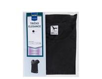 Tričko Elegance čierne dámske veľ.XL Horeca Select 1ks