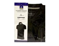 Polokošeľa pánska Valentino čierna veľkosť L Horeca Select 1ks