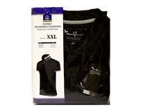 Polokošeľa pánska Valentino čierna veľkosť XXL Horeca Select 1ks