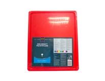 Doska na krájanie HACCP GN 1/2 červená Metro Professional 1ks