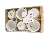 Hrnček porcelánový 150ml ARO 6ks