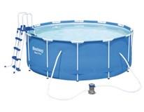 Bazén s konštrukciou a filtráciou 366x122cm 1ks