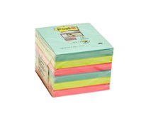 Bločky Mia Z Super sticky 76x76mm 90listov 3M Post-it 6ks