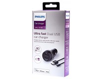 Nabíjačka do auta 2xUSB Port Philips 1ks