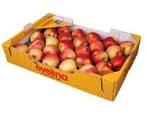 Jablká Evelina 70+ I. čerstvé 1x6,5 kg kartón