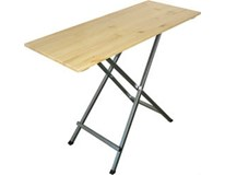Stôl na catering skladací drevo borovica 140x60cm 1ks