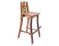 Barová stolička k sudu 37x97cm hmotnosť 9kg 1ks