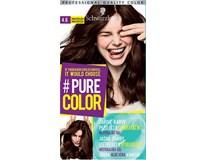 Schwarzkopf Pure Color 4-6 tmavá čokoláda farba na vlasy 1x1 ks