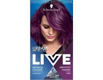 Schwarzkopf Live Urban 69 ametystová chrómová farba na vlasy 1x1 ks