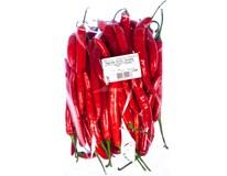 Paprika chilli červená I. čerstvá váž. cca 1kg