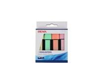 Zvýrazňovač pastel mix SIGMA 4ks