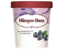 Häagen-Dazs Blueberries cream zmrzlina mraz. 1x460 ml