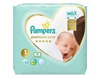 Pampers premium care S1 detské plienky 1x26 ks