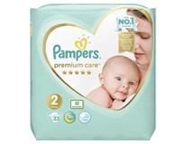 Pampers premium care S2 detské plienky 1x23 ks