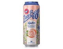 Zlatý Bažant 0,0% nealkoholické pivo radler grapefruit a rozmarín 6x500 ml PLECH