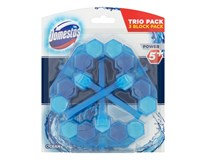 Domestos Power blue water ocean WC blok 3x53 g