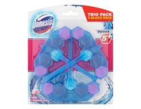 Domestos Power blue water magnolia WC blok 3x53 g