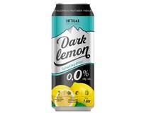 Horal pivo nealkoholické 0,0% radler tmavý citrón 1x1l PLECH