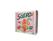 Solero Smoothie Jahoda zmrzlina mraz. 6x55 ml