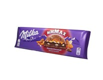 Milka Almond caramel/Mandle a karamel tabuľková čokoláda 1x300 g