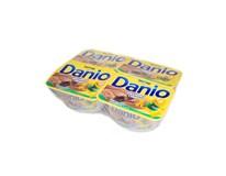 Danone Danio dezert tvarohový čokoláda a oriešok chlad. 4x130 g