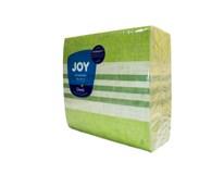 Servítky papierové Dunisoft  Raya kiwi 40cm Duni 60ks