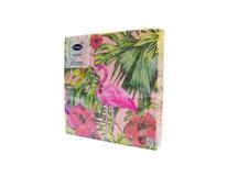 Servítky papierové Aloha Floral 3-vrstvové 33cm Duni 20ks
