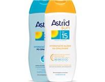 Astrid Sun Mlieko na opaľovanie OF15 1x200 ml + mlieko po opaľovaní 1x200 ml