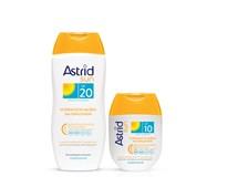 Astrid Sun Mlieko na opaľovanie OF20 1x200 ml + mlieko na opaľovanie OF10
