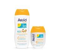 Astrid Sun Detské mlieko na opaľovanie OF30 1x200 ml + mlieko na opaľov. OF10