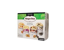 Häagen-Dazs Favorite Selection multipack mraz. 4x95 ml