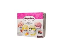 Häagen-Dazs Fruit Collection multipack mraz. 4x95 ml