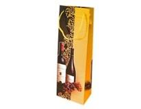 Taška na darčeky ST na fľašu 12,3x36,2x0,5cm DITIPO 1ks