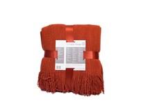 Deka akrylová strips červená 130x150cm Tarrington House 1ks