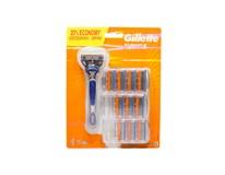 Gillette Fusion 5 strojček + 11 náhradných hlavíc 1x1 ks