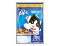 Felix Fantastic Kura krmivo pre mačky 20x100 g