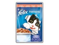 Felix Fantastic Losos krmivo pre mačky 20x100 g