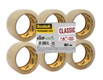 Baliaca páska transparentná 50m x 48mm 3M Scotch 6ks