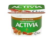Danone Activia Jogurt biely s datľami a chia chlad. 8x120 g