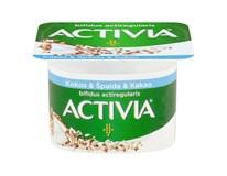 Danone Activia Jogurt biely s kokosom,špaldou a kakaom chlad. 8x120 g