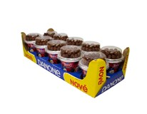 Danone Kostíci Křupíni Jogurt vanilkový s kakaovými gulôčkami chlad. 10x106 g