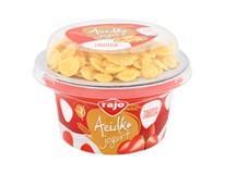 Rajo Acidko Jogurt Jahoda s cornflakes chlad. 1x143 g