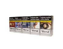 West silver super king size box 20ks KC3,30 10krab. kolok G tvrdé bal. VO cena