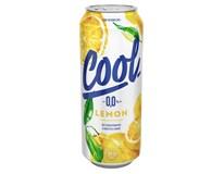Staropramen Cool pivo nealkoholické citrón 24x500 ml PLECH