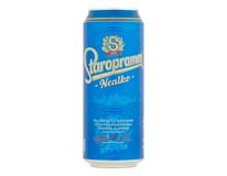 Staropramen pivo nealkoholické 24x500 ml PLECH