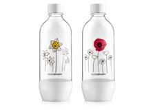 Sodastream Fľaša Duo Pack s kvetinami 2x1 l